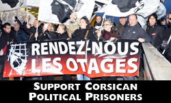 Support corsican political prisoners